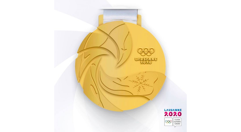 Lausanne 2020 Medals Unveiled : ANOC